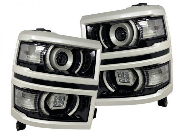 14-15 Chevrolet Silverado Off-Road LED Retrofit Headlights