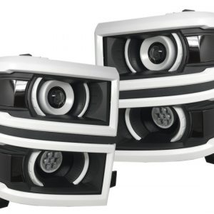 14-15 Chevy Silverado 1500 LED Projector Headlights