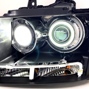 07-14 Chevy Tahoe Retrofit LED Halo Projector Headlights