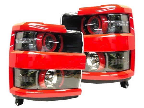 2015-2016 Chevrolet Silverado 2500 HD Custom Retrofit Headlights