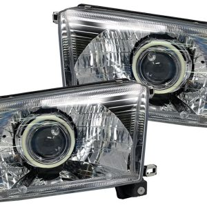 96-02 Toyota 4Runner Clear Switchback LED Headlights
