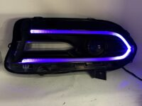 15-19 Dodge Charger Headlights Multicolor Led Lights