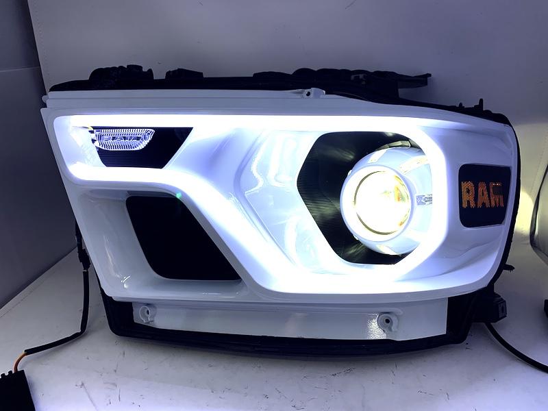 headlights ram 1500 custom led match