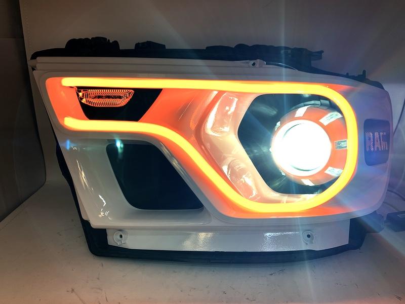 2019+ Ram 1500 Custom Led Headlights Color Match
