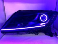 2013+ Nissan Pathfinder RGBW Led halo Projector Headlights