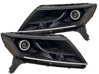 2013+ Nissan Pathfinder RGBW Led halo Projector Headlights