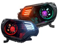 2012-15 toyota tacoma headlights custom