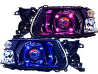 subaru forester headlights custom led