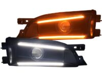 subaru impreza custom led projector