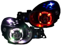 20-03 Subaru WRX Bug Eye RGB Led Projector HID Headlights