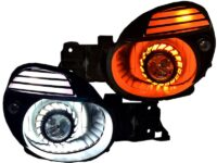02-03 Subaru WRX Switchback LED Projector Black Retrofit Headlights