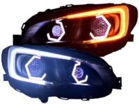 2015+ Subaru WRX STI Full Led Projector Headlights