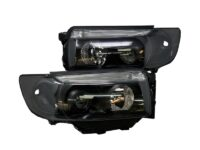 2006-2008 Subaru Forester Bixenon HID Retrofit Kit Custom Black Projector Headlights